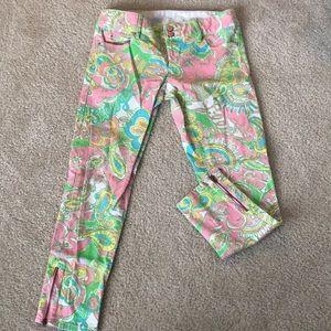 Lilly Pulitzer Worth Skinny Mini ZIP Jeans